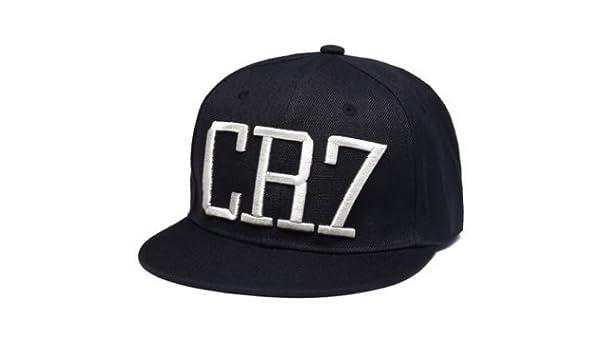 Amazon.com  Cristiano Ronaldo CR7 Real Madrid Footbal Hat Soccer Baseball  Snapback Caps(B)  Sports   Outdoors 8b62fda8f764