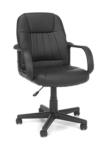 Essentials Mid-Back Executive Chair - Vinyl Conference and Computer Chair (E1007)