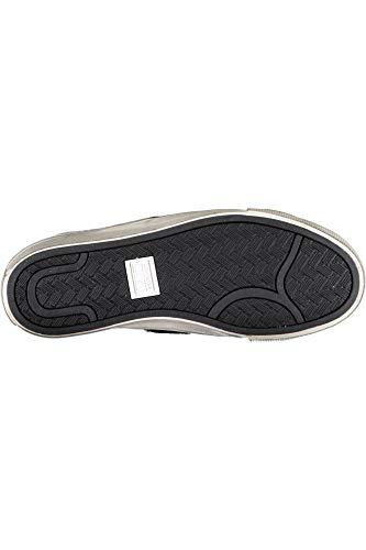De 158921c Zapatos Negro Bronce Mediados Cuero Plata Mujer Converse Argento cordones PtBdTqw7Tx
