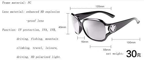 WJYTYJ Gafas Masculina última Clásico Femenina Moda Retro Y Protección Sol UV La De Polarizada Z4Zqrwp