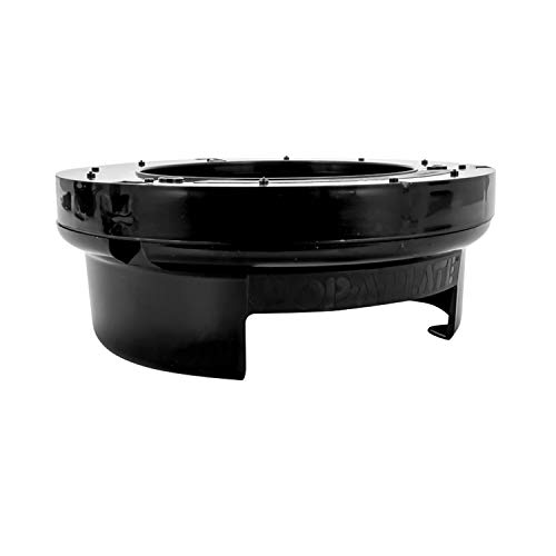 (Camco 57213 Black Pop Plastic or Paper Bowl Dispenser Perfect)