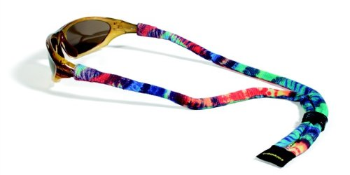 Croakies Suiters Eyewear Retainer, Tie Dye, Groovy - Glasses Croakies For