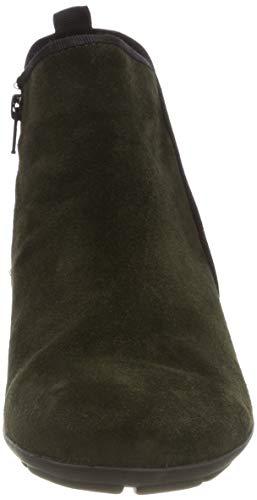 Schwarz Schwarz Gabor 11 11 Verde Bottle Donna Basic Stivaletti rqZTwqXv