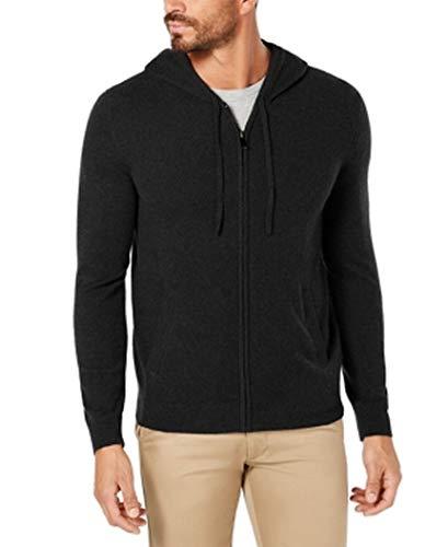 [해외]타 소 엘바 망 풀 지퍼 후드 캐시미어 스웨터 / Tasso Elba Mens Full-Zip Hooded Cashmere Sweater