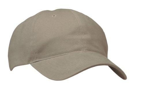 Port & Company - Brushed Twill, Low Profile Cap. CP77 - Khaki