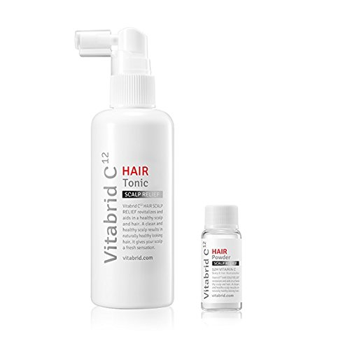 (Vitabrid C12 Hair Tonic Set (Professional, Scalp Relief) (Scalp Relief))