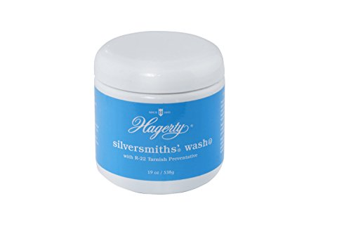 (W. J. Hagerty Hagerty 12170 Silversmiths' Silver Wash, 19 Ounces, 19-Ounce, Blue)