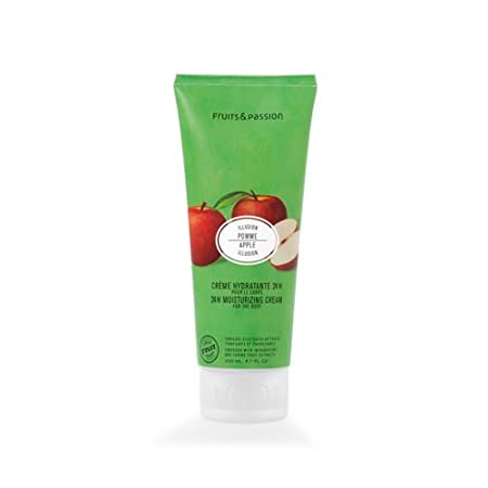 Fruits & Passion's 24H Moisturizing Cream For The Body, Pear Peony, Vitality Collection, 200 ml