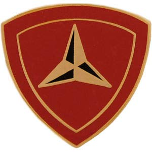 3rd U.S. Marine Division Hat Pin/Lapel Pin 7/8