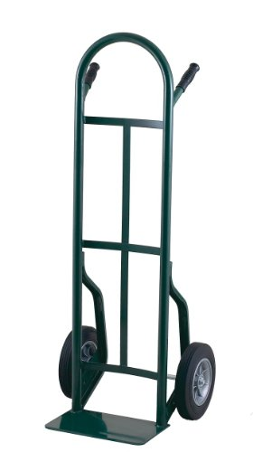 - Harper Trucks 53T86 500-Pound Capacity Steel Hand Truck with Continuous Handle and Dual Pins