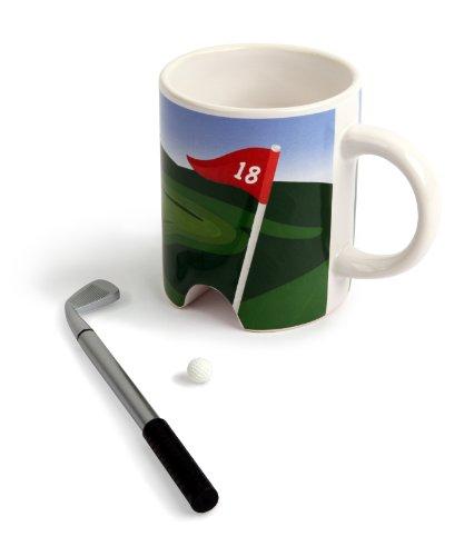 Kikkerland Putter Cup Golf Mug - Executive Coffee Mug