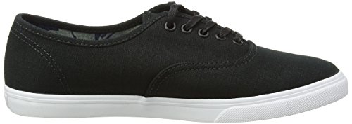 Vans Unisexe Erwachsene Authentique Baskets Lo Pro Schwarz (indigo Tropical / Noir / Blanc Véritable)