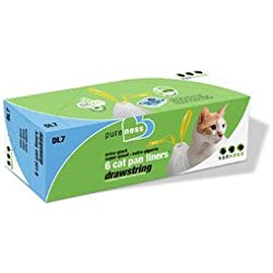 Drawstring Cat Pan Liners [Set of 3] Size: Extra Giant