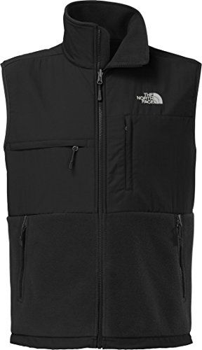 Men's The North Face Denali Vest Recycled TNF Black/TNF Black Size Small