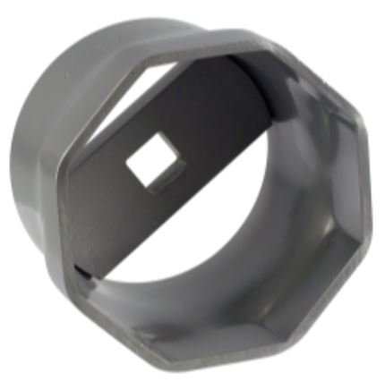 K&A Company Wheel Bearing Locknut Socket Drive Strength Steel 4.5'' - Square Drive 0.75
