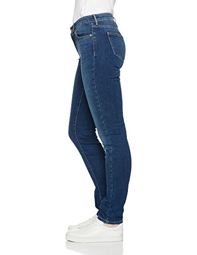 para Authentic Authentic Mujer Slim Blue Jeans Blue Wrangler Azul p7wqvx4n