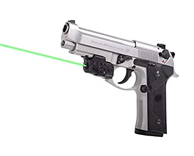LaserMax Lightning Rail Mounted Laser (Green) GS-LTN-G With GripSense from Crosman Corporation