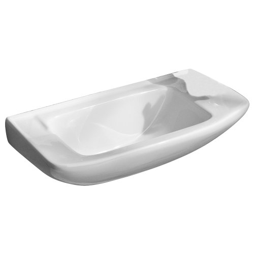 Porcher Console - Porcher 25011-00.001 Elfe Wall-Mounted Hand Basin, White