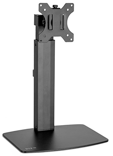 "VIVO Black Universal Free Standing Single Monitor Mount Desk Stand | Tension Spring Height Adjustable Monitor Arm for Screens up to 32"" (STAND-V001V) by VIVO (Image #6)"