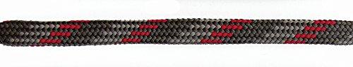 Barth Schuhbandl halbrund 180 cm versch. Farben (Farbe: rot/grau)