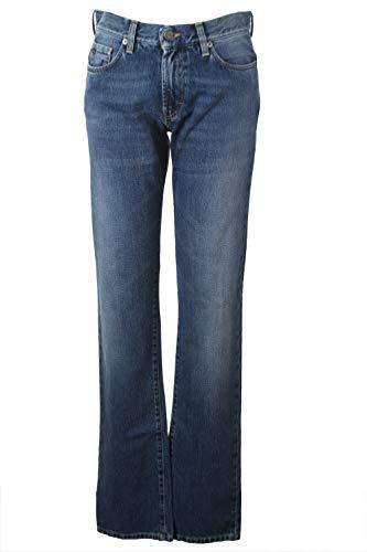 J. LINDEBERG Men's Cloud Denim Jeans, Mid Blue, 30x34
