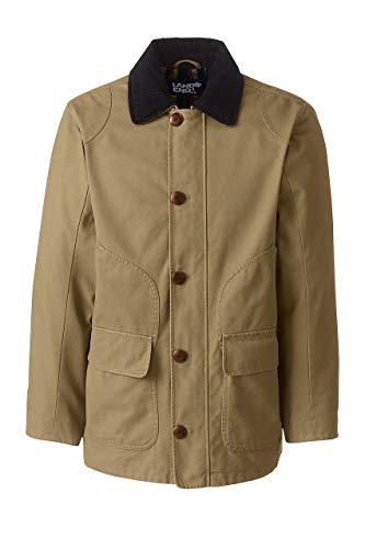 Lands' End Men's Barn Coat, L, Field Drab (Barn Coats)