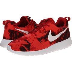 Nike Herren Roshe One Laufschuhe Gym Red / Deep Burgund-Weiß