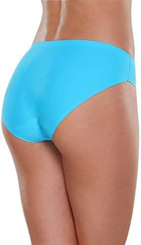 ALTHEANRAY Women/'s Seamless Hipster Underwear No Show Panties Soft Stretch Bikini Underwears Multi-Pack