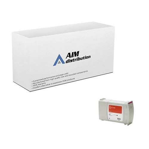 AIM Compatible Replacement for ECO90 Red Inkjet (175 ML) - Compatible to NeoPost 4127175Q - Generic (Ml Ink 175)
