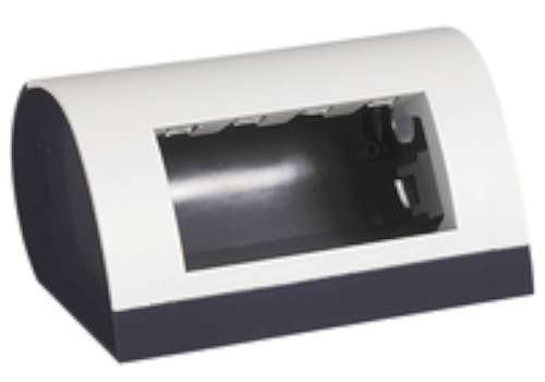Bticino Column.& postazione di lavoro 150433–Scatola Desktop Light 4mod
