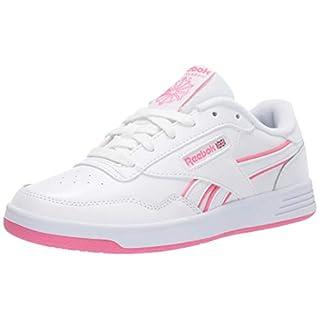 Reebok Women's Club MEMT Sneaker, White/Pink/White, 8.5