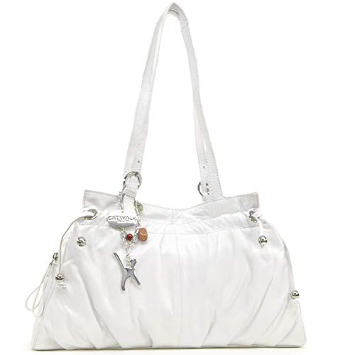 Catwalk Collection Leather Shoulder Bag - Alice White