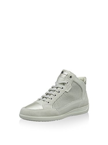 Geox Women's D6268C 00085 C1002 Trainers 3 Size: Off White