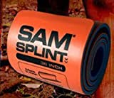 The Seaburg Co, Inc (SP1121F) Sam Splint Orange/Blue Flat 36x4.25 60/Ca