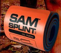 The Seaburg Co, Inc (SP1121F) Sam Splint Orange/Blue Flat 36x4.25 60/Ca by The Seaburg Co, Inc