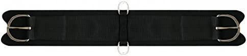 Showman Felt Girth Cinch with Neoprene Center That Comes Complete with Flat Stainless Steel Hardware