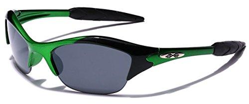 KIDS AGE 3-12 Half Frame Sports Sunglasses ()