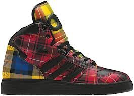 Adidas JS INSTINCT HI by Jeremy Scott / Black / - Scott Mens Jeremy