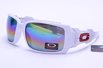 9f47017beae8a ... new zealand oakley lifestyle sunglasses white frame rainbow lens 0669  7ae24 1491f