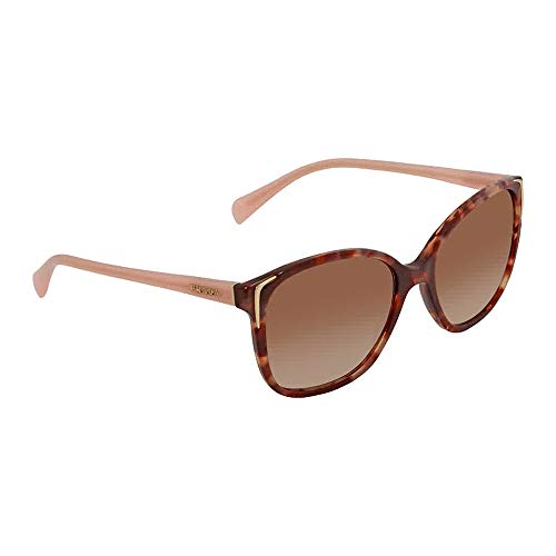 Prada PR01OS UE00A6 Spotted Brown/Pink PR01OS Round Sunglasses Lens Category ()