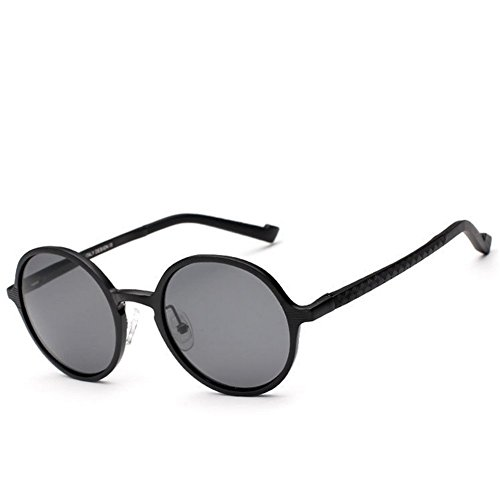 A-Roval Men Polarized Round Large Fashion Metal - Suit Sunglasses My Face Men Which