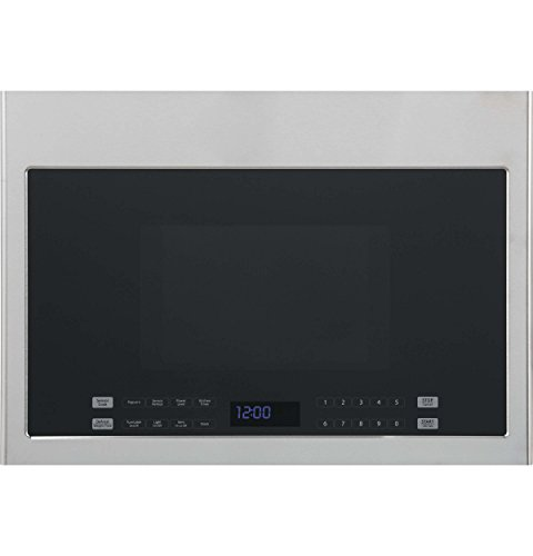 Haier HMV1472BHS 24″ Over-the-Range Microwave with 1.3 cu. ft. Capacity 300 CFM Sensor Cooking Hidden Vent 10 Power Levels and 13.6″ Turntable in Stainless