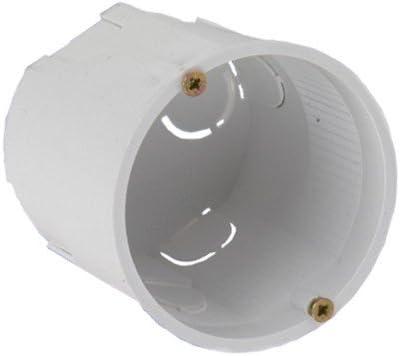 Caja de interruptores (cajetín 13.80 pkpw de diámetro 60 x 60 unas 3586: Amazon.es: Iluminación