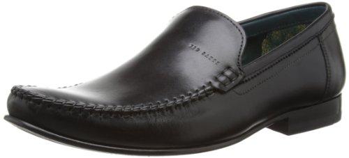 Ted Baker Simeen 2 - Zapatos sin cordones de cuero hombre negro - negro