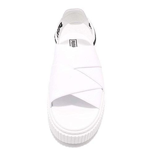 Platform Bianco Sandales Sandal Puma Femmes BdqBa