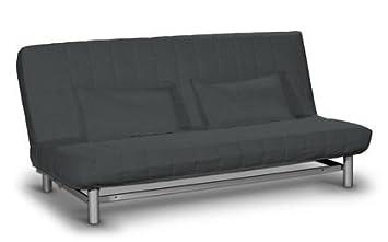 Bezug Fur Ikea Beddinge Bettsofa Kurz Bahama Grau Von Saustark