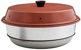 Omnia Oven. Your oven on the stove top. Ideal solution for boat oven, camp oven, and RV oven. Also known as a wonder pot.