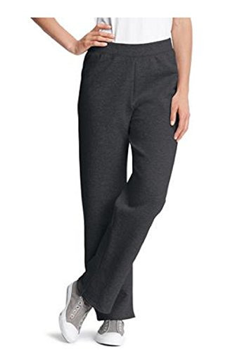 (Hanes Womens Fleece Pant Sweatpants S - Xl (xlarge, black))