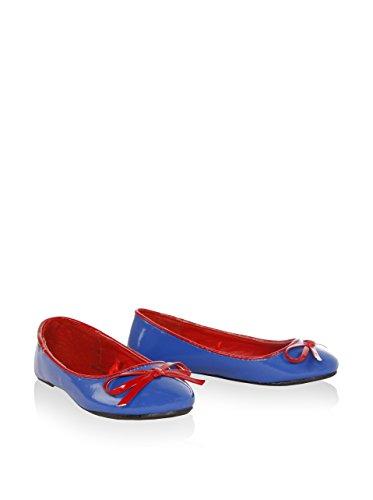 Ballerinas für Mädchen URBAN B039091-B1654 CBLUE-RED