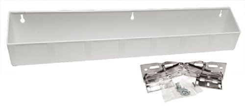 21 Tip Out Sink Front Tray With Hinges White Plastic
